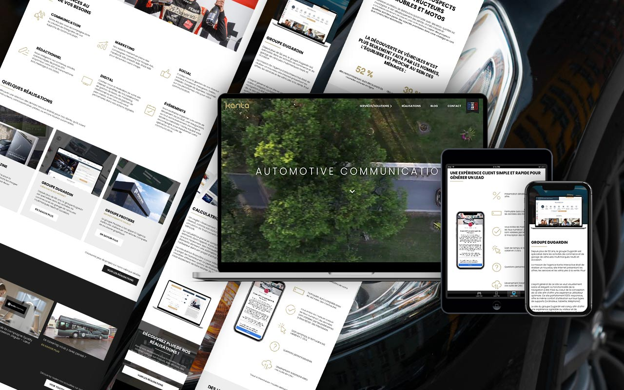 Nouveau site Karita Interactive